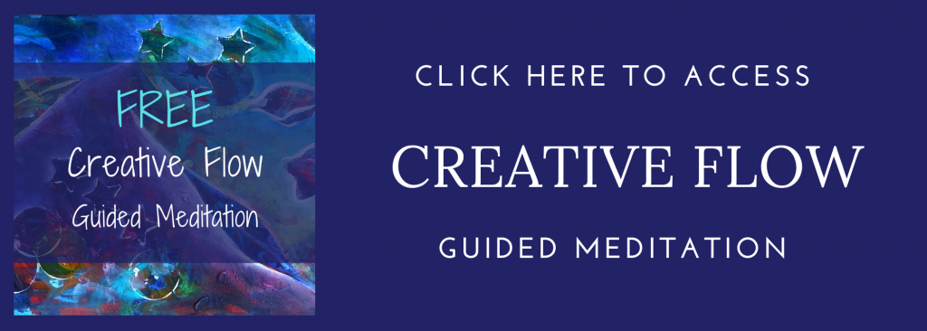 guided meditation, creativity, relaxation, reiki, painting, art