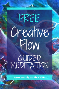 A guided meditation for creative flow and moving past creative blocks