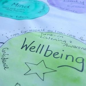 healing art class reiki painting wellbeing health