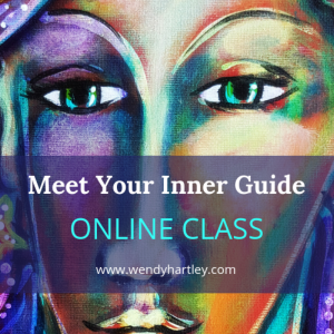 reiki painting ecourse intuitive wisdom guidance psychic